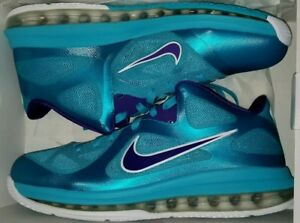 more photos 92c70 c2f46 Image is loading Nike-LeBron-9-Low-Summit-Lake-Hornets-10-