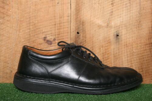 ALLEN EDMONDS Black Leather Split Toe Oxfords Fash