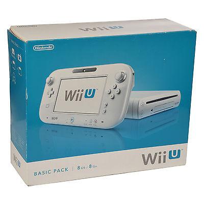 Nintendo Wii U 8GB Weiß  - Konsole (OVP)