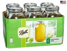 Ball Half-Gallon Jars Wide Mouth Set of 2 Pack