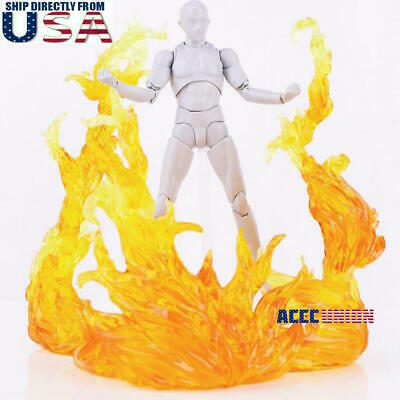 S.H.F EFFECT BURNING FLAME RED Action Figure For Hot Toys