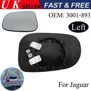 Fits-Jaguar-XF-XJ-XK-XE-X-Type-Left-Nearside-Heated-Door-Mirror-Glass-3001-893