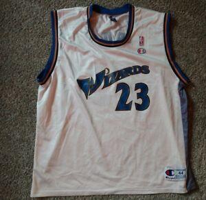 79f76c12a Men s Champion Washington Wizards Michael Jordan  23 NBA Jersey Size ...