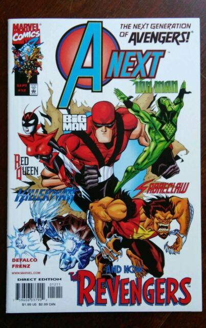 A-Next #1-12 1999 Marvel Avengers Ant Man 1ST RED QUEEN/Hope Pym 9.6 NM+ LOT/SET