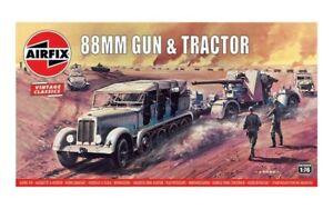 Airfix Vintage Classics 88 mm gun & Trailer 1:76 Model Kit