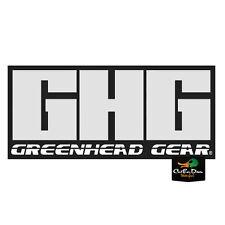 "NEW AVERY GREENHEAD GEAR GHG LOGO TRAILER STICKER DECAL 6"""
