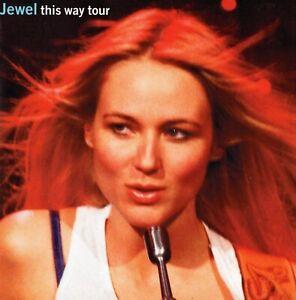 JEWEL 1998 SPIRIT WORLD TOUR CONCERT PROGRAM BOOK BOOKLET-NEAR MINT TO MINT