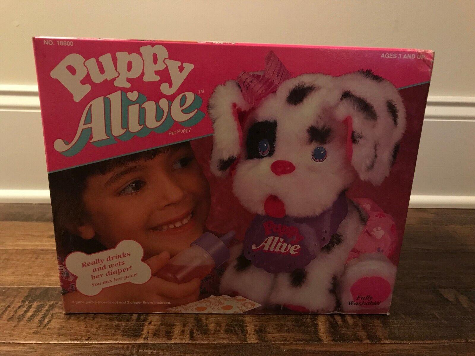 1992 Vintage (Kenner)  PUPPY ALIVE  (BABY ALIVE)  PET PUPPY , NEW  RARE