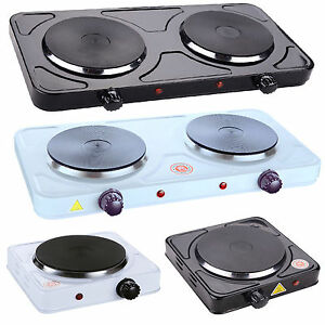 Image Is Loading Electric Double Hot Plate Camping Stove