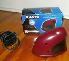 X Acto W19505 Mighty Mite Electric Pencil Sharpener Red Tested Working