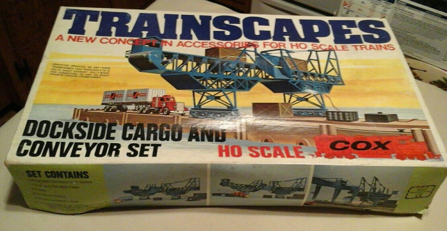 COX i trenicapes Dockside autogo e Trasportatore Set Kit di modellolo in Plastica