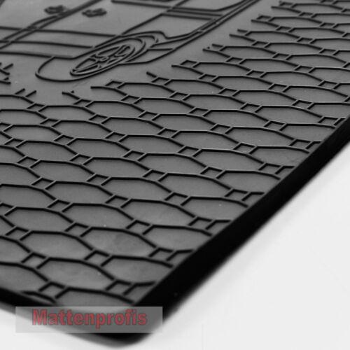 goma tapiz bañera set gkk para Skoda kodiaq a partir de año 2016 Esteras de goma