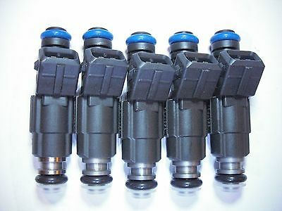 ( Set of 5 ) Flow Matched Refurbished Fuel Injectors Bosch # 0280155702 Volvo