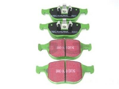 Ford Fiesta ST150 Focus ST170 Front Brake Pads EBC Uprated Greenstuff DP21641