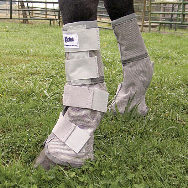 Cashel HORSE Fits HORSE Cashel Crusader SET OF FOUR LEG GUARDS Cool Mesh Stiefel Fly Control 412493