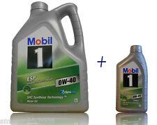 Mobil 1 ESP 0W 40 1x5 Liter + 1x1 Liter  Motoröl  BMW LL04,  MB 229.51, Opel
