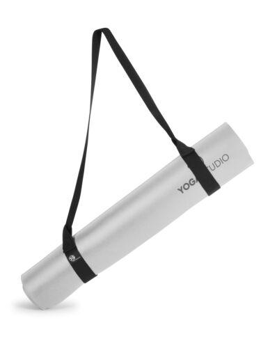 Yoga Studio Black Easy Adjustable Yoga Mat Sling Shoulder Strap Belt Carrier