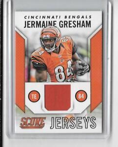 2015 SCORE NFL FOOTBALL SCORE JERSEYS JERMAINE GRESHAM JERSEY ...