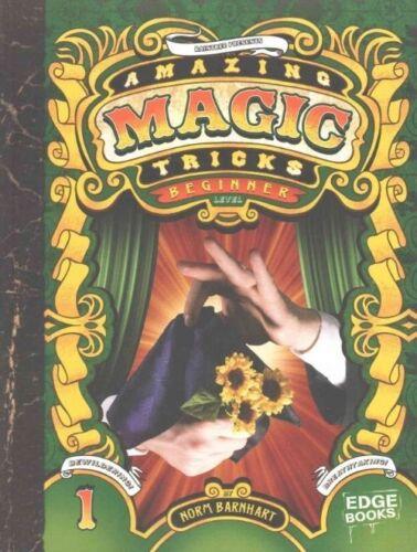 1 of 1 - Barnhart, Norm, Amazing Magic Tricks: Beginner Level, Very Good Book