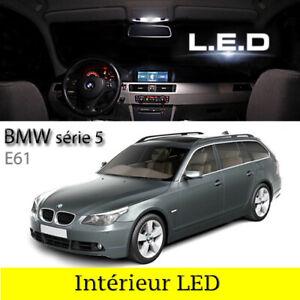 Kit-ampoules-a-LED-pour-l-039-eclairage-blanc-pour-BMW-serie-5-E61-Break-Touring