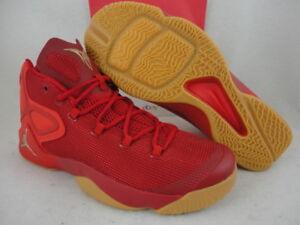 8039346c901 Nike Jordan Melo M12, Gym Red Metallic Gold / Challenge Red, 827176 ...