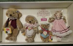 Steiff & Suzanne Gibson Goldilocks and the Three Bears - 1985 NEW in Box Set