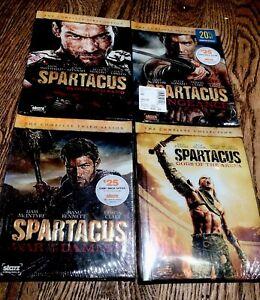 Spartacus: TV Season 1, 2, 3, 4 Spartacus: Gods Of The ...