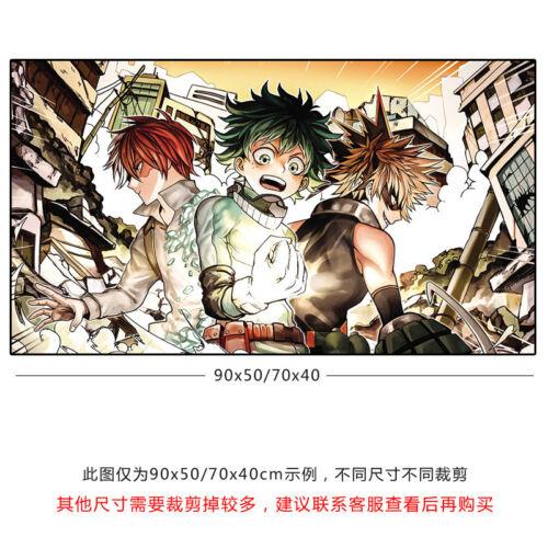 Anime My Boku no Hero Academia Oversize Mousepad Mouse Mat Pad Play 40*70cm #V15