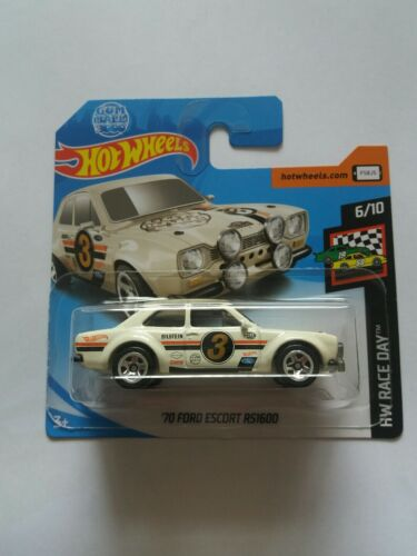 Hot Wheels  /'70 Ford Escort RS1600 GUMBALL 3000  NEU OVP