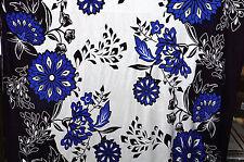 Floral Silk Jersey Fabric Floral Ethnic Border Apparel BTY   Bfab