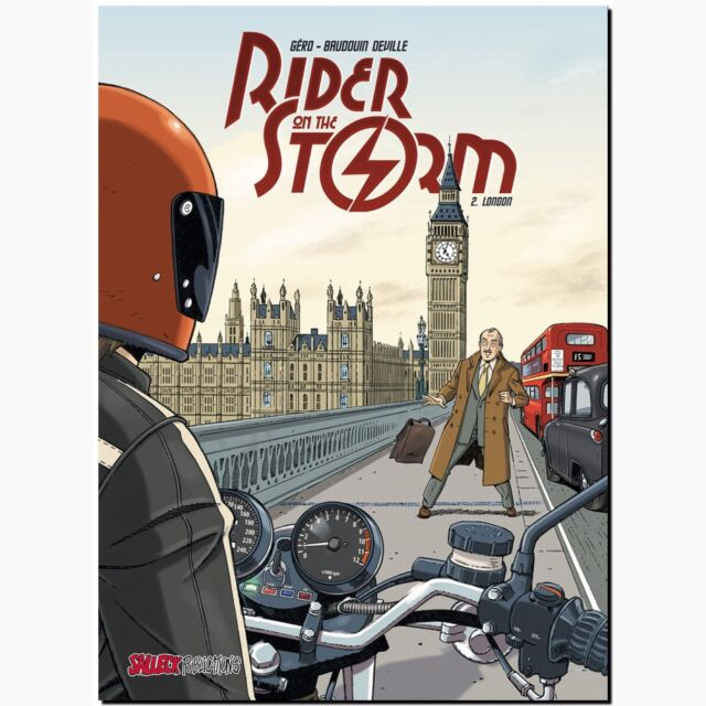 Rider on the Storm 2 London Motorrad Rennnfahrer Kriminal Salleck COMIC 70er NEU