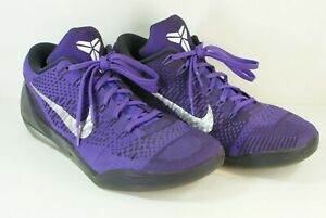 newest 614c9 5d568 Details about Nike Kobe 9 Elite Moonwalker purple Basketball shoes men size  10.5