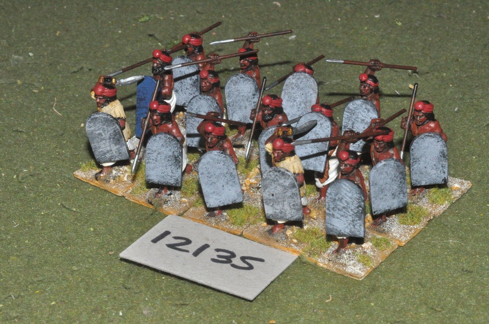 25mm classical   indian - ancient ancient ancient spearmen 15 figs - inf (12135) f57ee6