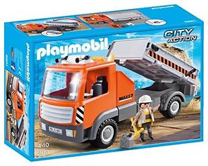 Playmobil-City-Action-6861-Camion-de-Obra-New-and-sealed