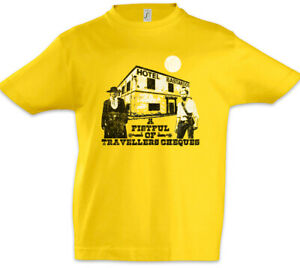 A-Fistful-Of-Travellers-Cheques-Kinder-Jungen-T-Shirt-The-Comic-Fun-Strip-Hotel
