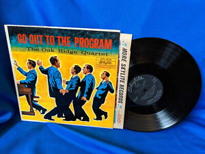 The-Oak-Ridge-Quartet-LP-Go-Out-to-the-Program-Rare-Early-Southern-Gospel