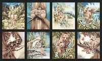 North American Wildlife 5 By Robert Kaufman - Earth Panel