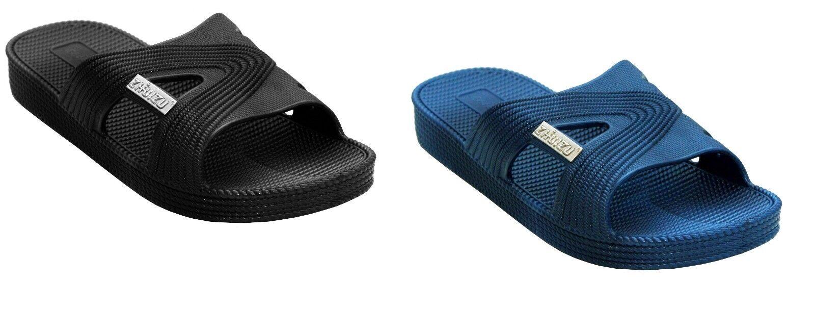 New Mens pool Slip On Beach Shower Mules Flip Flops pool Mens Sliders sandals Size 6ee05d