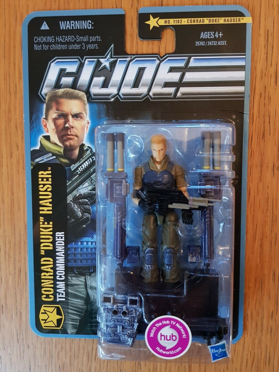 Action Force/GI Joe Pursuit of Cobra Conrad Duke Hauser New Sealed MOC
