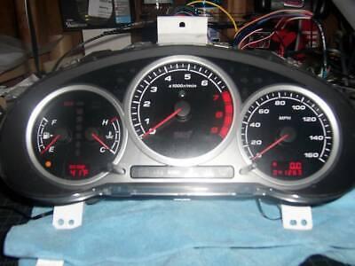 Fiberglass Triple Dash Gauge Pod for 02 03 04 05 06 07 Subaru Impreza WRX /& STi