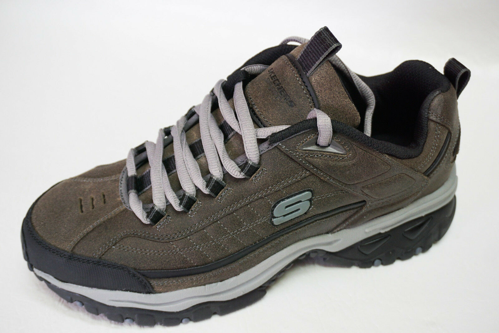 Skechers Sport mens energy DOWNFORCE hiking leather sneakers shoes 10 11.5 NEW