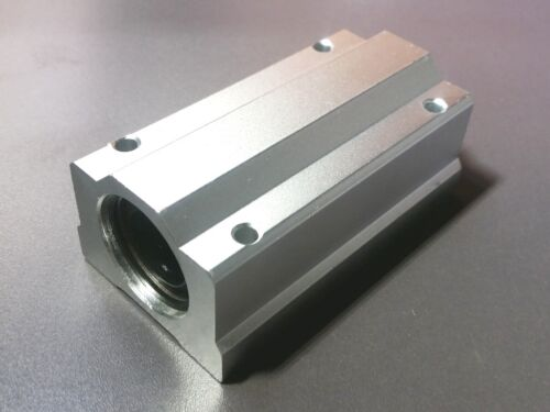 2 x SCS20LUU 20mm Long Linear Blocks Shaft Rail Bearing Bushing Motion CNC Mill