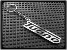 KEYRING for APRILIA TUONO - STAINLESS STEEL - HAND MADE - CHAIN LOOP FOB