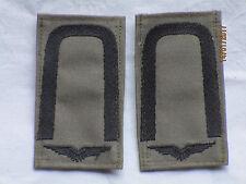 BW-rango cinghie: sottufficiale, Luftwaffe, Nero/Verde oliva, chiusura in velcro