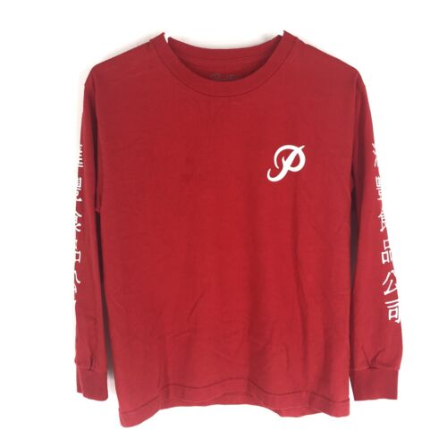 Primitive Huy Fong Foods Red Long Sleeve Shirt Siz