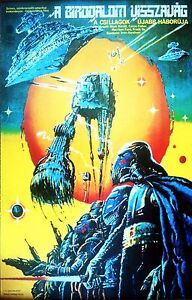 STAR WARS THE EMPIRE STRIKES BACK V Hungarian Movie Poster Art Return Jedi