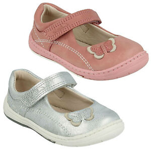 Image is loading SOFTLY-WOW-GIRLS-INFANT-CLARKS-RIPTAPE-LEATHER-MARY- 04775ec3a