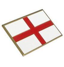 England British St George's Cross Beautiful Enamel Die Cast Badge Self Adhesive