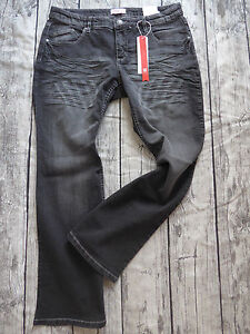 Sheego-Jeans-Trousers-Black-Size-40-to-58-Long-short-Normal-117-Used-Effect