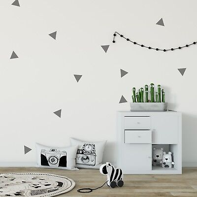 Fornitura Triangles Wall Decal Individual Stickers Children Art Decor Bedroom Nursery Kids Prima Qualità